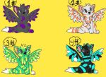 Winged Wolfs [OPEN] by Sarahpie101