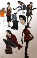 DmC:: street rat sketches by Petitecreme