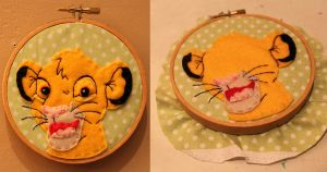 Little Simba Hoop by loveandasandwich