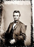 Lincoln in Sepia Strokes by GeneLythgow
