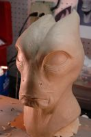 Mordin Sculpture Complete. by Danosuke