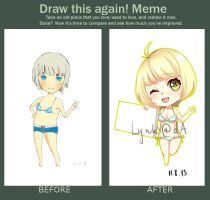 Draw this again meme by LynkN