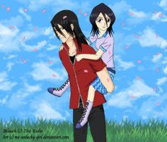 Byakuya and Rukia by Bleach-Lovers