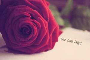 Live. Love. Laugh by Impossiblee
