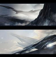 Sci-Fi sketches by sheer-madness