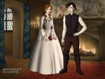 James and xavier wedding by vampchick4
