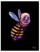 Fringe the Kisser Bee Clown. by Pascalism