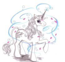 MLP - my little last Unicorn by Neri-chan