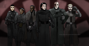 Knights of Ren Helmless by DalSifoDyas