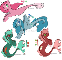 MLP Merpony Adoptables ~ Closed by Lyklex