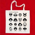 Me and my friends...tote by ColourLab