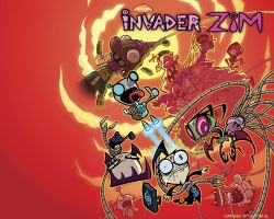 Zim DVD 2 Cover by slydevil
