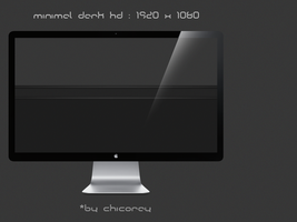 minimal dark HD by chicoray