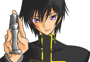 Lelouch - Checkmate by lonewhitewolfninja
