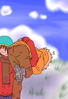 Boombox Kenny by FrozenVictim
