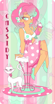 Strawberry Babe- Cassidy Pinup~ by xXLady-MafiaXx