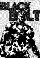 Black Bolt by TomRFoster