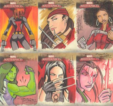 Marvel Masterpieces II set 6 by KidNotorious