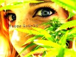 Marihuana eyes by bitah-albixuela
