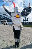 23rd May MCM LON Dark Souls II Knight Solaire by TPJerematic