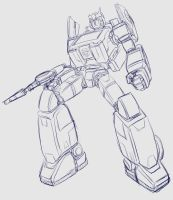 Ratchet Animated G1 by bokuman