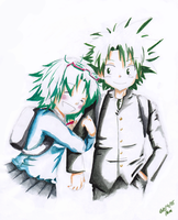 Mori and Ueki by Arche-JoIyO