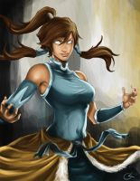 Korra by TheAngryMammoth