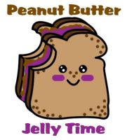 Peanut Butter Jelly Time by luckycyberbunny