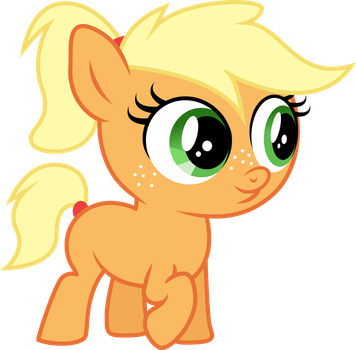 Applejack the Filly by TheShadowStone