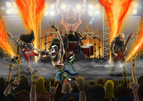 the metal band by nedesem