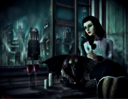 Dark Nights In Rapture... by 47612784612784678128