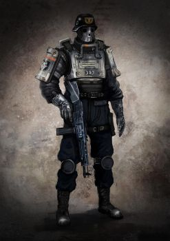 Wolfenstein The New Order Soldier by SullyVanCraft