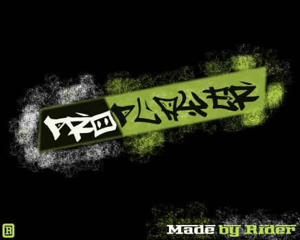 Pro Player Text Effect by teor2
