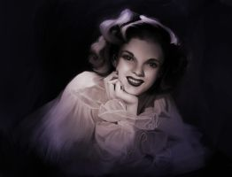 judy garland by achibner
