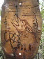 grey wolf by lordelementus