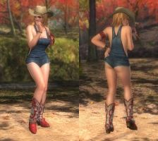 My favorite DOA outfits (Tina overall) by DoAfanboi