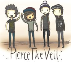 Pierce The Veil by rinarinarinachan