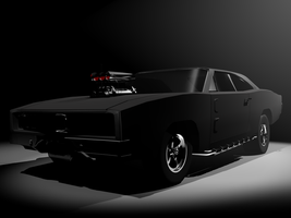 Dodge Charger 1969 by OutcastOne