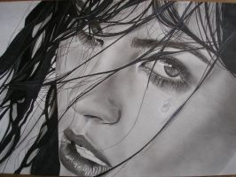 Pencil drawing.. by Tureluur