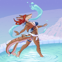 ::COMM:: Water Dance by Teskine