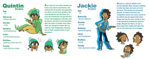 Quintin and Jackie profile by ActionKiddy