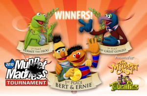 Muppet Madness Winners by dhulteen