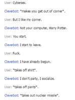 Cleverbot NO by Ayedeas