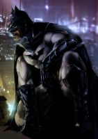 The dark knight by slaine69