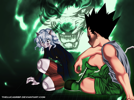 Gon and Pitou-No way out by thelucasrbp