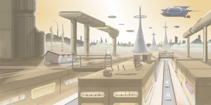 Farian City - WIP - 02 by bschu