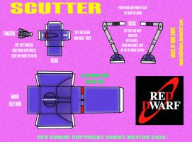 Red Dwarf - Scutter by mikedaws