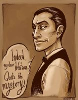 Mr. Holmes Loves a Mystery by dauntingfire