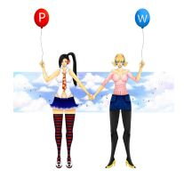 Pepper and Wanda Balloon by PepperProject
