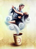 Tango To The Coffee Machine by XThrill